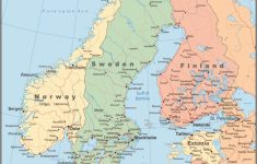 Printable Map Of Denmark