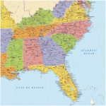 Map Of Southeast Region Of Us Map Of Southeastern Luxury Awesome Us For Printable Map Of Southeast Us