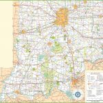 Map Of Southern Indiana Inside Printable Map Of Indiana