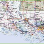 Map Of Southern Louisiana With Regard To Printable Map Of Louisiana
