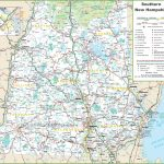 Map Of Southern New Hampshire Inside New Hampshire State Map Printable