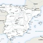 Map Of Spain Political | Travel | Map Of Spain, Map Vector, Map Intended For Printable Map Of Spain Pdf