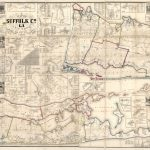 Map Of Suffolk County, L.i., N.y. : From Actual Surveys | Library Of Throughout Printable Map Of Suffolk County Ny