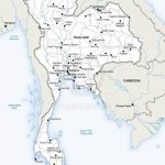 Map Of Thailand Political | Graphic Design | Map Vector, Map, Asia Map Regarding Printable Map Of Thailand