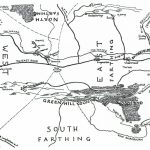 Map Of The Shire   J.r.r. Tolkien With Printable Hobbit Map