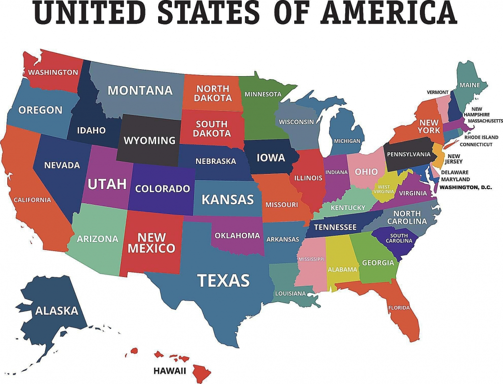 Map Of The Us States Labeled Statesbright Unique Beautiful The Map in Map Of The United States With States Labeled Printable