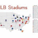 Map Of Us Baseball Stadiums Baseball Stadium Map Fresh Elegant Map With Regard To Printable Map Of Mlb Stadiums