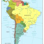 Map Of Us Physical Features Ah M New Latin America South Within With Regard To South America Physical Map Printable