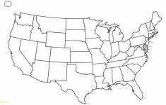 Free Printable Usa Map With States