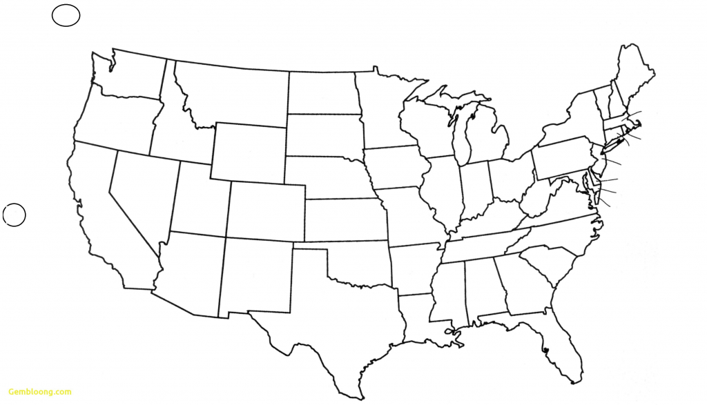 Map Of Us States With Names Usa Map Of States Blank Fresh United throughout Free Printable Usa Map With States