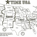 Map Of Us Time Zonesstate Usa Timezone Map 2016 Luxury Printable In Printable Map Of Us Time Zones With State Names