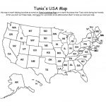Map Of Usa With Abbreviations Us States Abbreviated On State Names New In Printable State Abbreviations Map