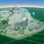 Map Of Walt Disney World Resort   Wdwinfo Regarding Walt Disney World Park Maps Printable
