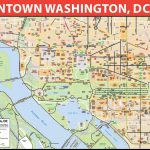Map Of Washington Dc Area Downtown Bike | D1Softball With Regard To Map Of Downtown Washington Dc Printable
