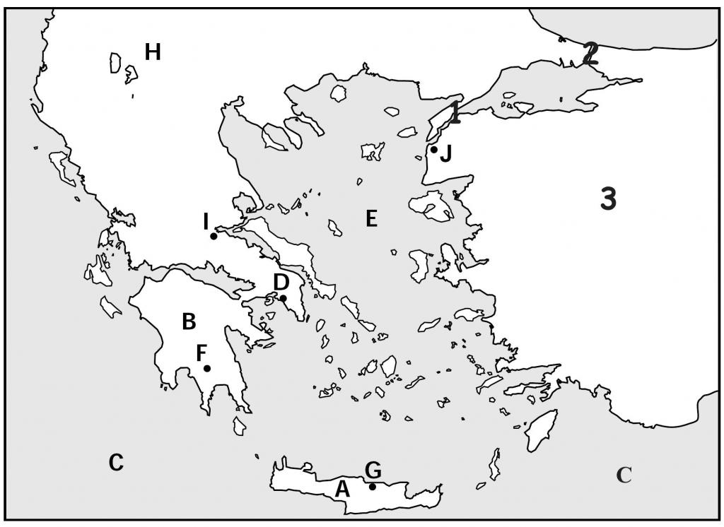 Map Quiz, Ancient Greeks For Kids | Homeschooling | Map Quiz, Greece intended for Ancient Greece Map For Kids Printables