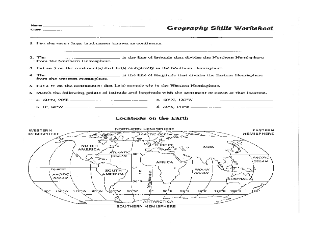 Map Skills Worksheet Pdf Fresh Best Solutions Of 6Th Grade Geography regarding Map Reading Quiz Printable