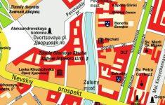 Printable Map Of St Petersburg Russia