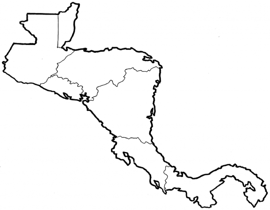 Map Worksheet Of Mexico Refrence Blank Central America And Caribbean regarding Printable Blank Map Of Central America