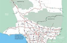 Los Angeles Freeway Map Printable