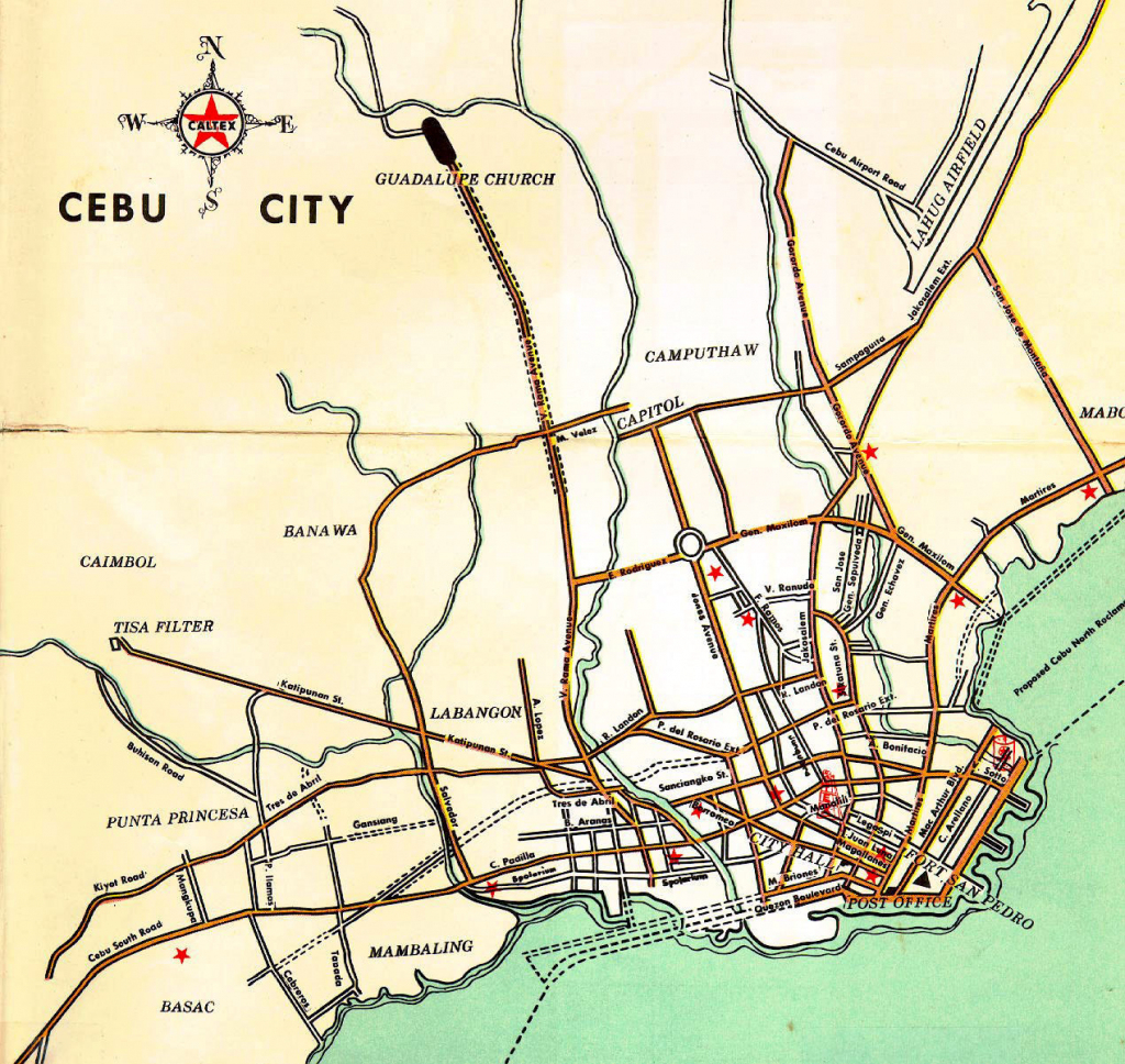 Maps Archive - Wagner Hs, Clark Ab, And The Philippines with regard to Cebu City Map Printable