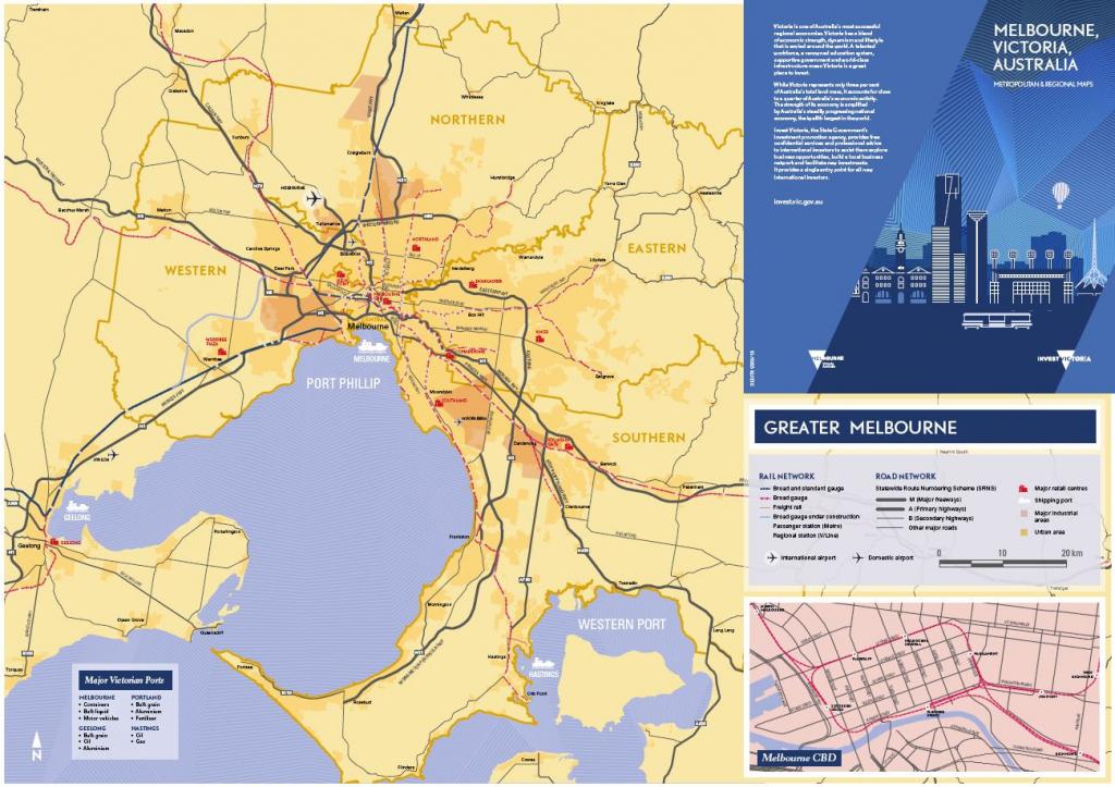 Maps - Invest Victoria regarding Printable Map Of Victoria
