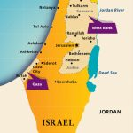 Maps: Israel Today | Aipac With Printable Map Of Israel