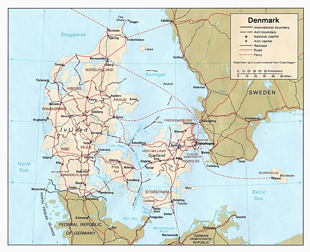 Maps Of Denmark | Detailed Map Of Denmark In English | Tourist Map within Printable Map Of Denmark