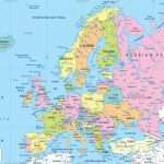 Maps Of Europe | Map Of Europe In English | Political Throughout Printable Map Of Europe With Cities