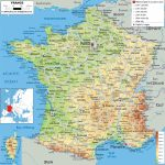 Maps Of France | Detailed Map Of France In English | Tourist Map Of Regarding Printable Road Map Of France
