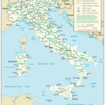 Maps Of Italy   Detailed Map Of Italy In English   Tourist Map Of For Printable Map Of Italy With Cities And Towns