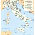 Maps Of Italy   Detailed Map Of Italy In English   Tourist Map Of With Printable Map Of Italy With Cities And Towns