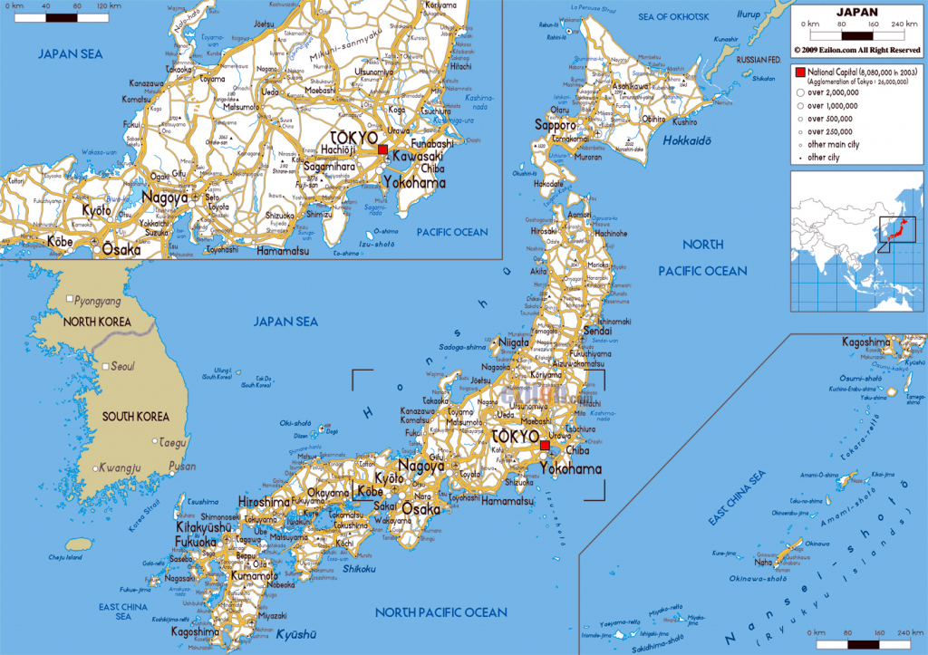 Maps Of Japan | Detailed Map Of Japan In English | Tourist Map Of inside Large Printable Map Of Japan