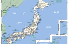 Printable Map Of Japan With Cities