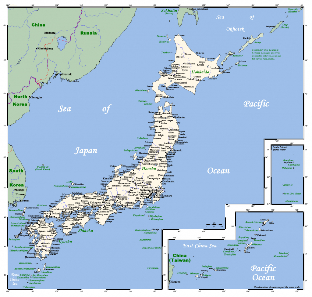 Maps Of Japan | Detailed Map Of Japan In English | Tourist Map Of with Printable Map Of Japan With Cities