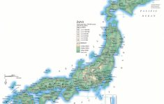 Large Printable Map Of Japan