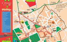 Marrakech Tourist Map Printable