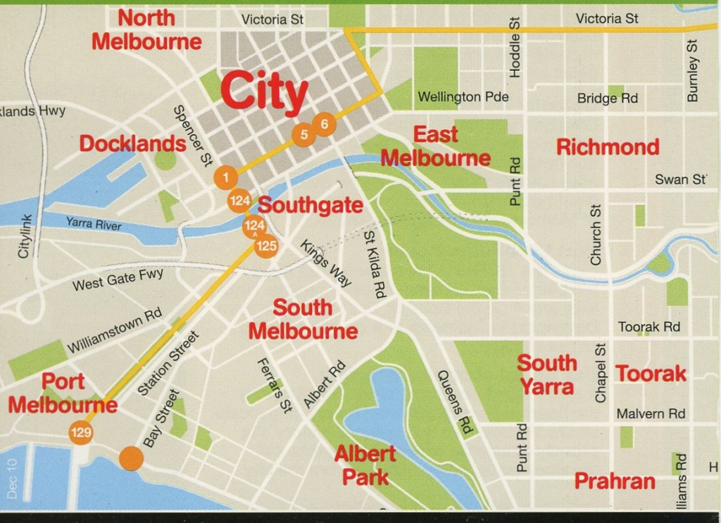 Maps Of Melbourne, Australia – I See American People (And Places) pertaining to Melbourne Cbd Map Printable