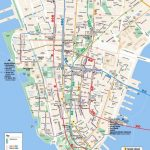 Maps Of New York Top Tourist Attractions   Free, Printable Regarding Printable New York Street Map