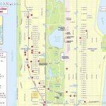 Maps Of New York Top Tourist Attractions   Free, Printable Regarding Printable Street Map Of Manhattan