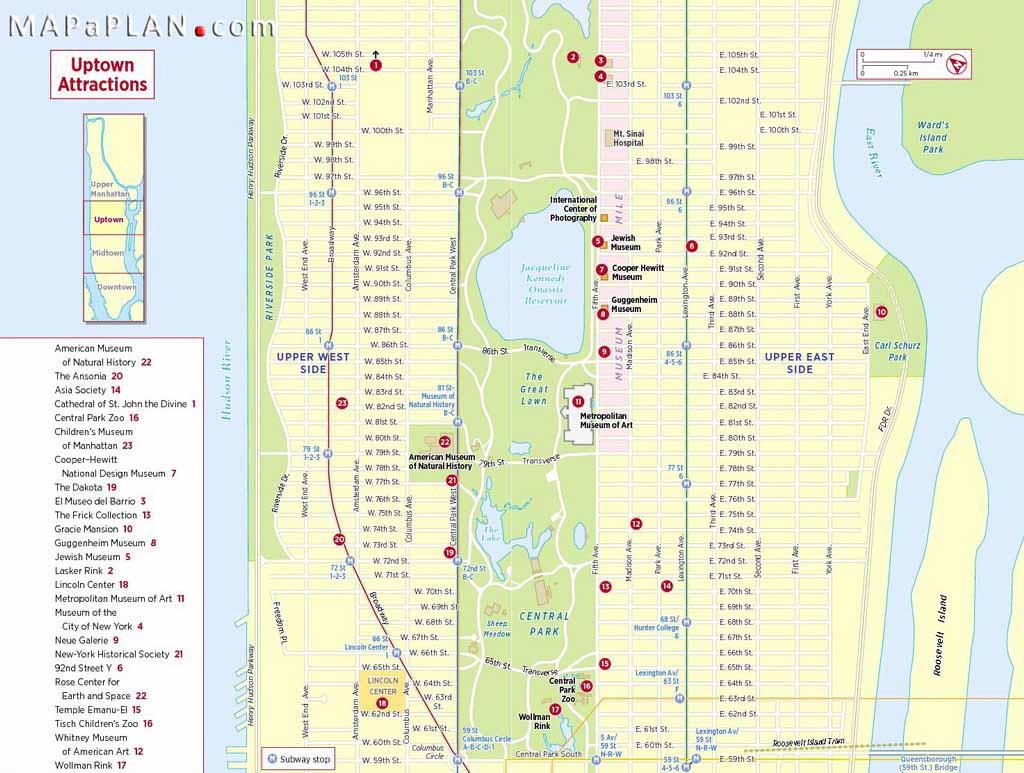 Maps Of New York Top Tourist Attractions - Free, Printable regarding Printable Walking Map Of Midtown Manhattan