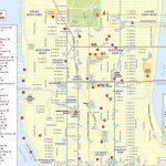 Maps Of New York Top Tourist Attractions   Free, Printable With Free Printable Map Of Manhattan