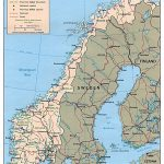 Maps Of Norway | Detailed Map Of Norway In English | Tourist Map Of In Printable Map Of Norway With Cities