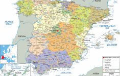 Maps Of Spain | Detailed Map Of Spain In English | Tourist Map (Map regarding Printable Map Of Spain With Cities