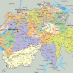 Maps Of Switzerland | Detailed Map Of Switzerland In English Within Printable Map Of Switzerland