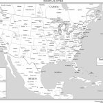 Maps Of The United States Inside Printable United States Map With Scale