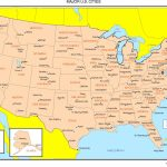 Maps Of The United States Regarding Printable State Maps With Major Cities