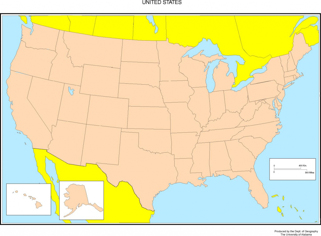 Maps Of The United States throughout United States Map States And Capitals Printable Map