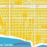 Maps Playa Del Carmen Quintana Roo Riviera Maya Map Within Printable Map Of Playa Del Carmen