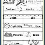 Maps Unit With Powerpoint And Printables (Geography Throughout Printable Map Activities