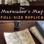 Marauder's Map Full Size Replica | Hp | Harry Potter Printables For Marauder's Map Replica Printable